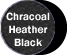 Charcoal Heather/Black