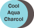 Cool Aqua/Charcoal