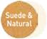Suede/Natural