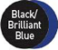 Brilliant Blue/Black