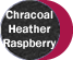Charcoal Heather/Raspberry